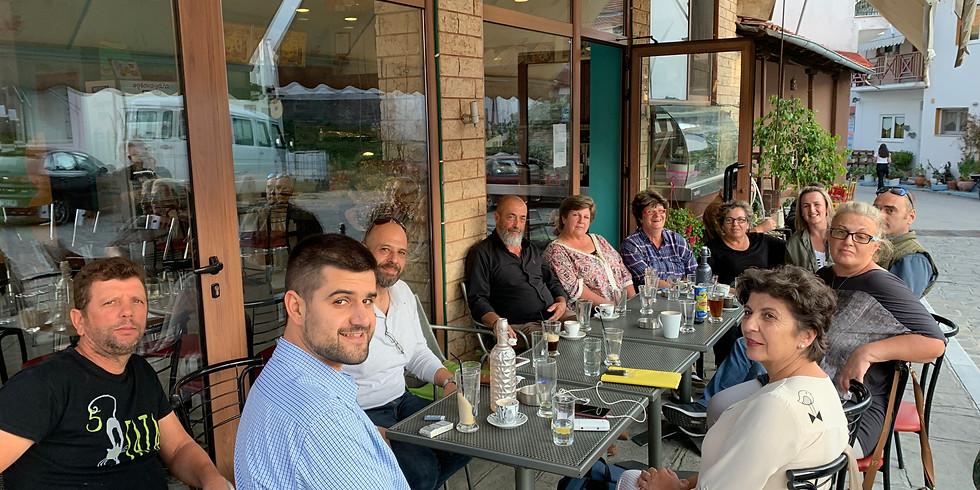 5.10.2019 Συνάντηση με τους εργαζόμενους στο πρόγραμμα αντιπυρικής προστασίας Χαλκικδής