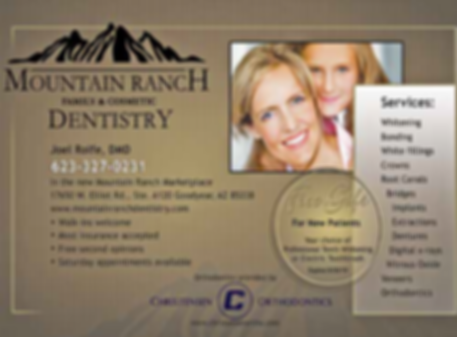 Mountaini Rranch Dentistry_Advert Jul201