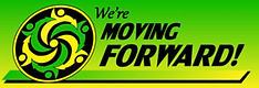We're Moving Forward Logo