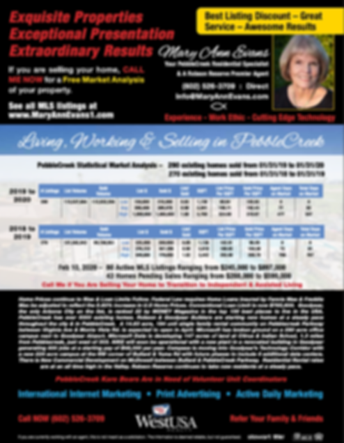 West USA Realty_Mary Ann Evans_Advert Ma
