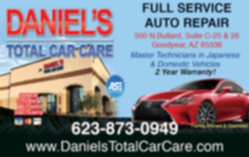 Daniels Total Car Care_Advert Apr2019.pn