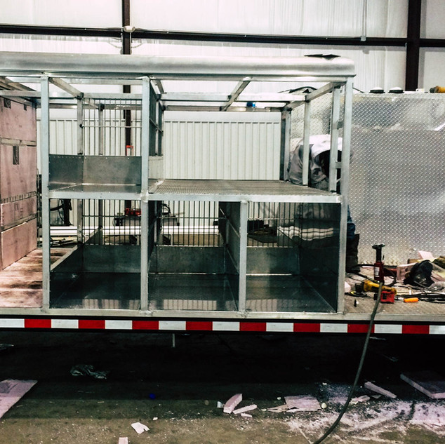 Carol's Machine & Fabrication, Inc. - custom trailer