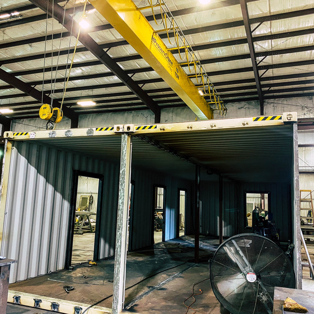 Carol's Machine & Fabrication, Inc. - shop conex