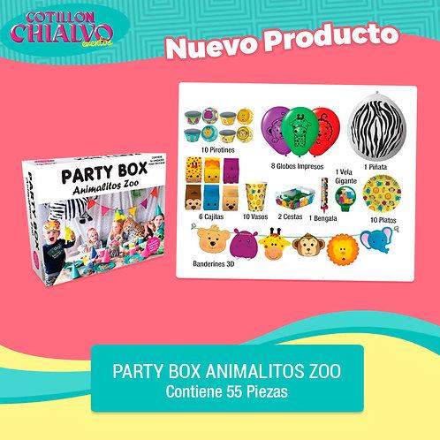 "Party Box ""Animalitos Zoo"""