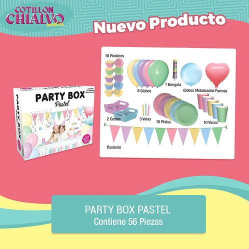 "Party Box ""Pastel"""