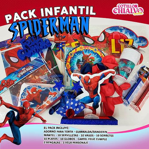 "Combo Cumple ""Spider-man"""