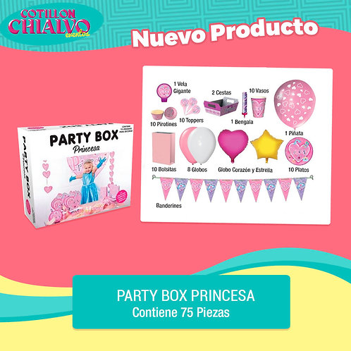 "Party Box ""Princesa"""