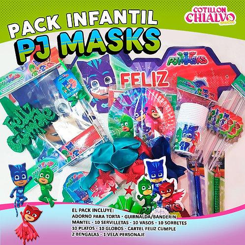 "Combo Cumple ""PJ Masks"""