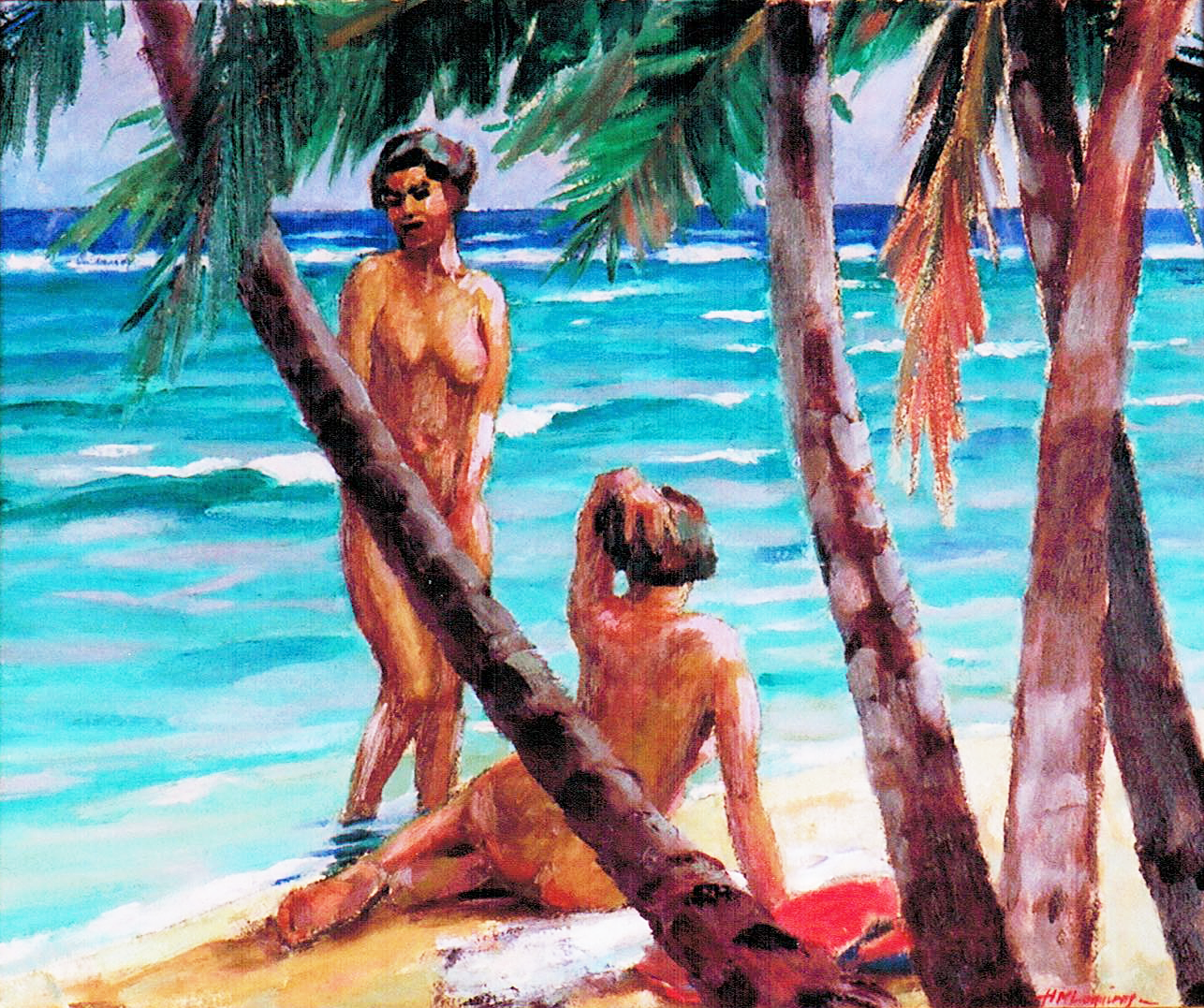 Nude Female Figures 90
