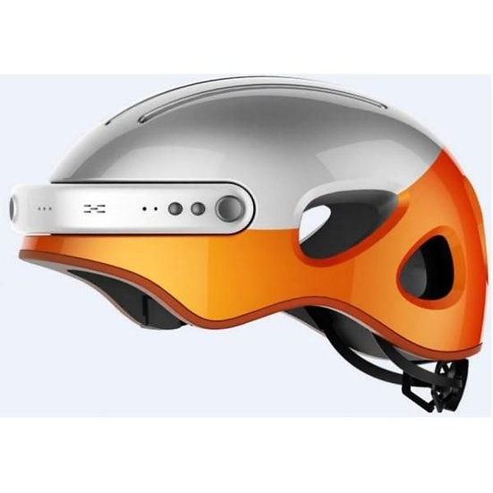 Airwheel intelligent helmets - White/ Orange/ XL