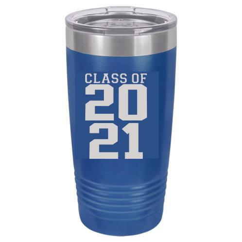 20 oz Tumbler Class of 2021