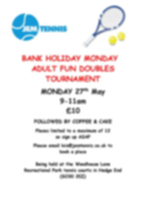 May bank holiday doubles tournament-page