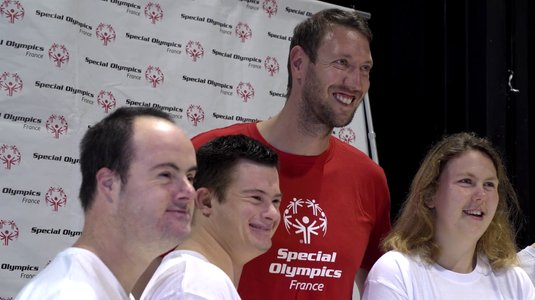 Alain Bernard, Ambassadeur Special Olympics