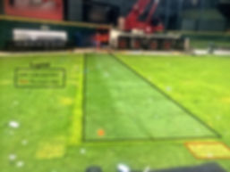 Turf Protection, ground protection, concert stage, plywood grass, ground protection