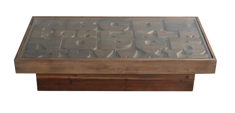リビングテーブル ABC COFFEE TABLE