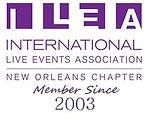 ILEA Member, International Live Events Association Member