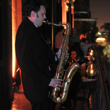 Roaming Saxphonist