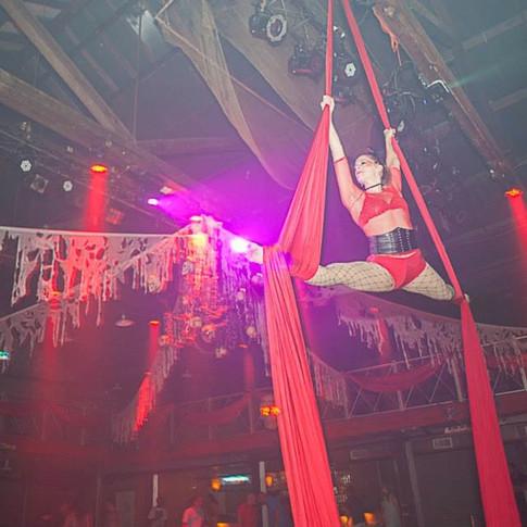 Aerial Silks Performer
