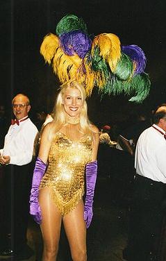 Mardi Gras Showgirl