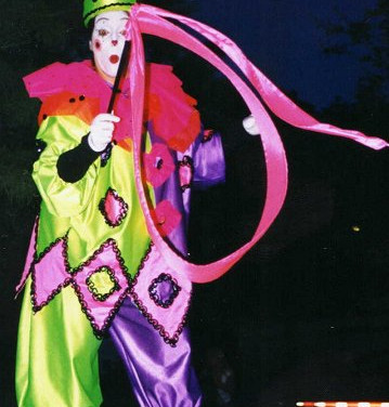 Ribbon Dancing Clown