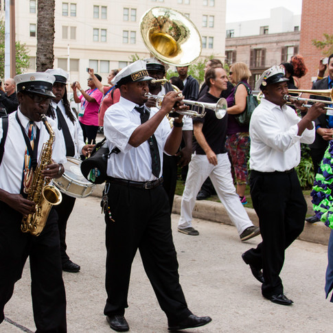 Second Line Band