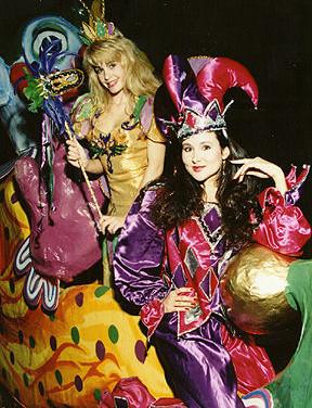 Mardi Gras Fairy and Jester