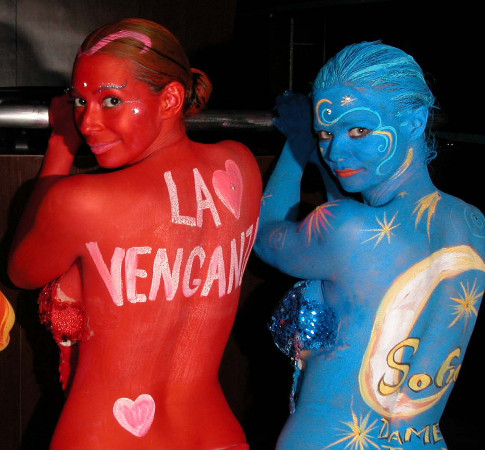 Body Painted Models