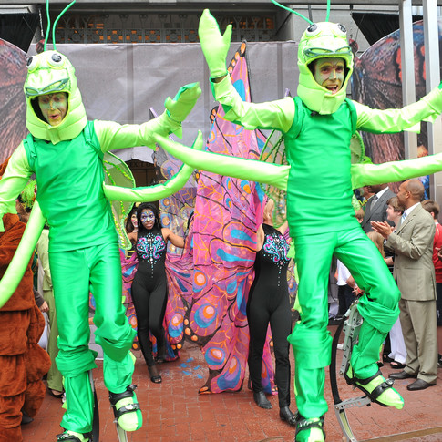 Insect Stilt Walkers