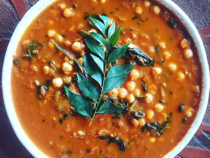 RECIPE - Quickest Ever Spinach & Chickpea Curry
