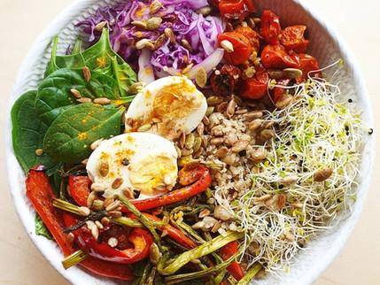 NUTRITION HERO #1, The Interesting Salad