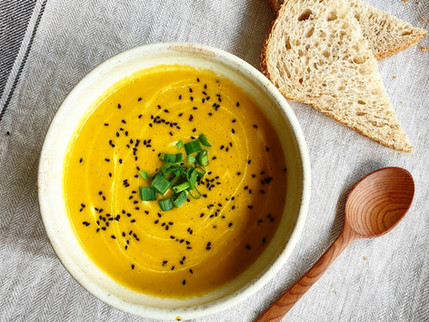 RECIPE - My Carrot & Coriander Soup