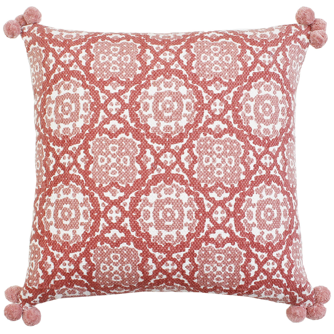 Moroccan Pink Pillow (2)