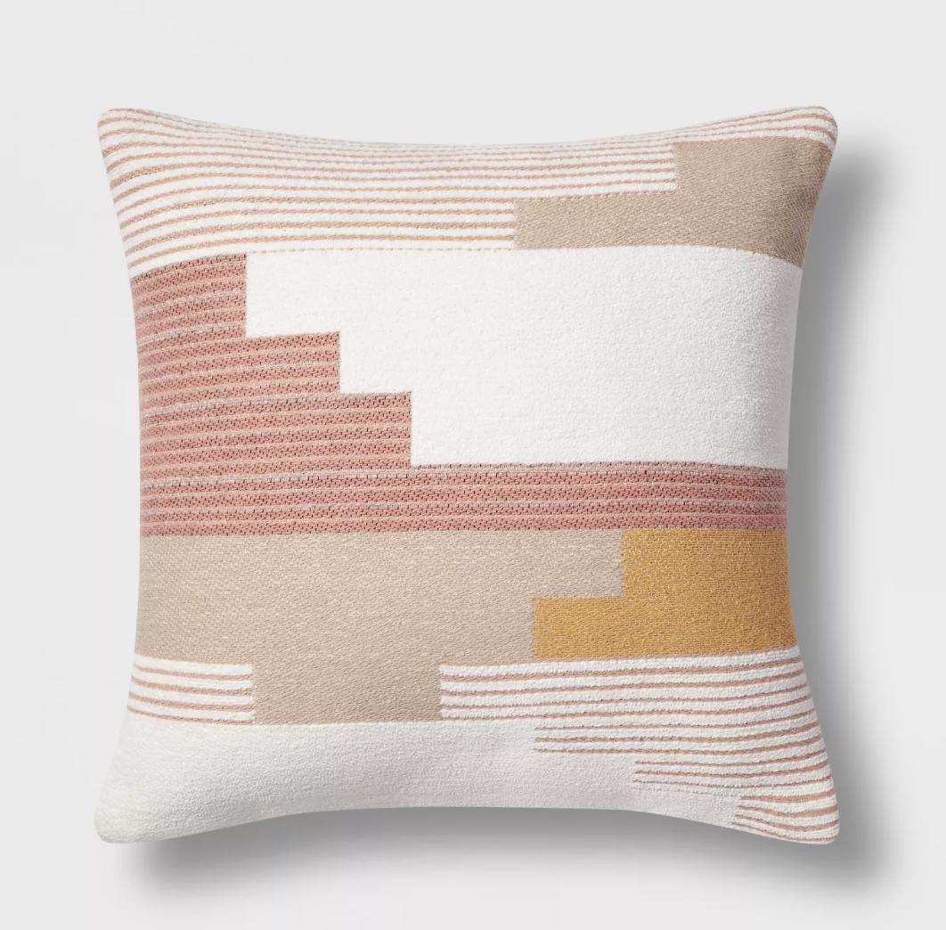 Modern Pink Pillow (1)