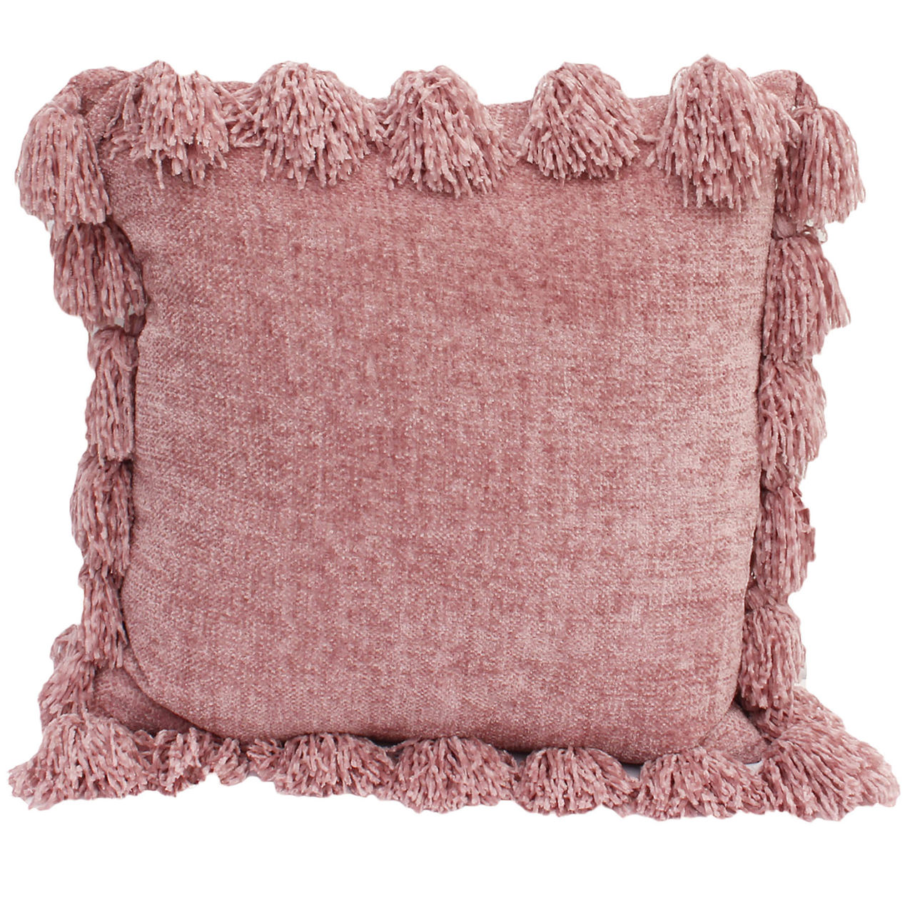 Pink Tassel Pillow (2)