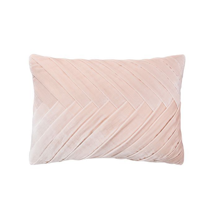 Oblong Ribbed Pink Pillow (1)
