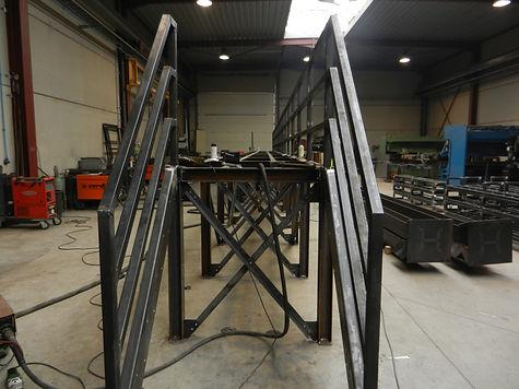 loopbrug, bordes, staal