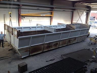 Herstellen mobiele betoncentrale