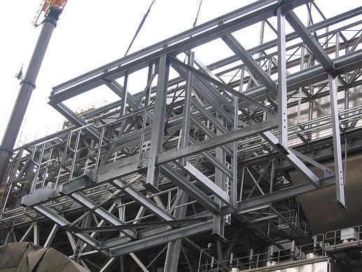 Staalconstructie, metaalconstructie galvanisatie lassen