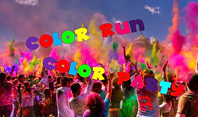 Color run y Color party