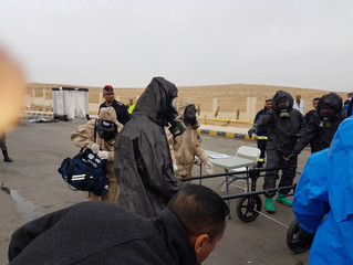 Project 54 Team Observe CBRN Exercise
