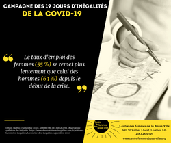 Campagne des 19 jours d'inégalités de la