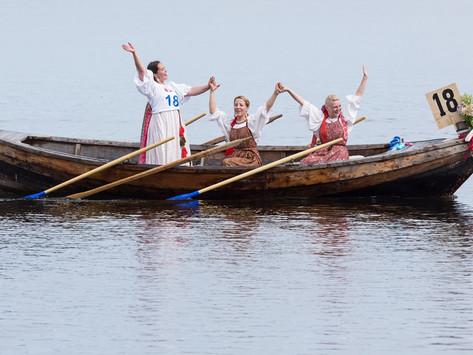 """Международный фестиваль традиционного судостроения и судоходства """"Кижская регата"""""""