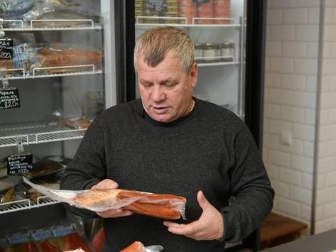 Николай Федоренко открывает новый цех по производству рыбьего жира