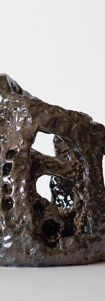 Aggravated state 2020 Ceramic, glazed  28 x 25 x 25 cm # 014-2020