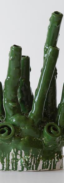 Instability - 1 2021 Ceramic, glazed  34 x 20 x 13 cm # 004-2021