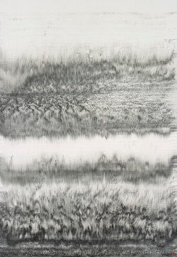 HUNG Fai 熊輝 VESSEL IV 2019 Ink on Chinese Paper 136 x 69 cm