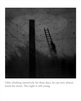 7.  AFTER CLIMBING INTENSIVELY FOR THREE DAYS (2011) by LEE Ka Sing 李家昇