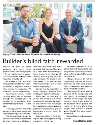 print - guardian express - buying blind