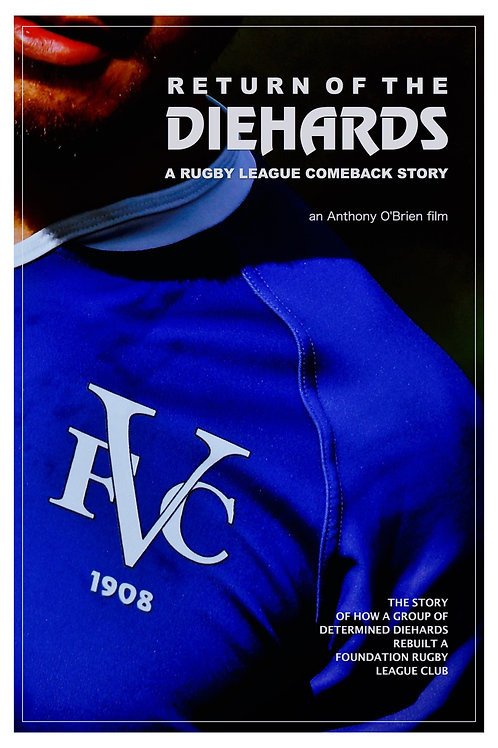 Return Of The Diehards - A Rugby League Comeback Story DVD
