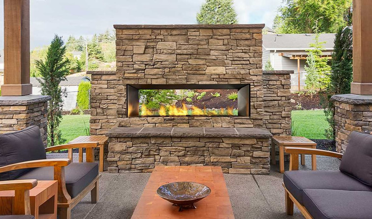 Regency Horizon Outdoor Gas Fireplace